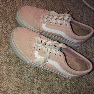 Light Pink Old Skool Vans